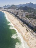 Dangerous and Deadly Rip Currents Along the Coast of Rio De Janeiro