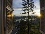 Sunrise from the French Colonial-Era Sofitel Dalat Palace Hotel