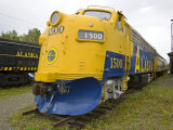 Train on Display at Museum of Alaska Transportation and Industry
