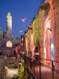 Tower of David Museum  Jerusalem  Israel  Lit for Sound and Light Show