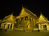 Grand Palace Complex Buildings  Salas and Shrine at Night