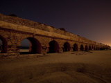 Aqueduct Built by King Herod to Carry Water into Caesarea