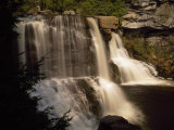 Scenic View of the Cascading Waters of Blackwater Falls