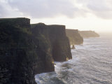Cliffs of Moher Overlooking the Atlantic