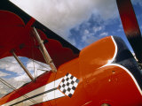 Close View of the Side of an Aerobatic Plane