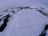 Cracking Ice in the Svalbard Archipelago