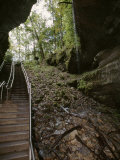 Stairway Leading Down into Mammoth Cave