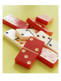 Red and White Dominoes