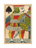 Jack of Spades Card