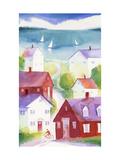 Houses in Seaside Town
