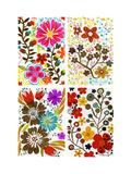 Four Floral Designs