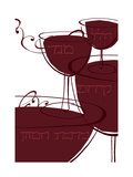 Wine with Hebrew Lettering