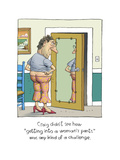 Getting into Woman's Pants