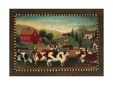 Nostalgic Farm Landscape