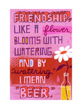 Friendship Blooms Like a Flower