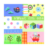 Baby Items Collage