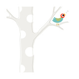 Songbird in Tree