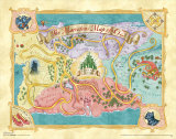 The Wizard of Oz: Glitter Map