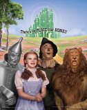 The Wizard of Oz: No Place Like Home Glitter Reproduction d'art