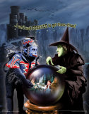 The Wizard of Oz: Witch Can't Wait Glitter Reproduction d'art