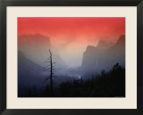 The Angular Beauty of the Yosemite Valley Is Awash with Natural Pastel Light Tones