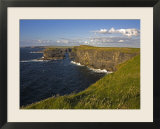 Cliffs Near Kilkee  Loop Head  County Clare  Munster  Republic of Ireland  Europe