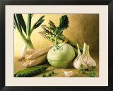 Various Green & White Vegetables