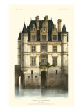 French Chateaux in Blue I