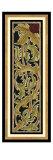 Sienna Woodcut Panel II