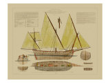 Antique Ship Plan V