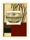 Printed Porcelain Garden III