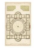 Antique Garden Plan III