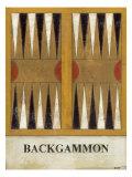 Backgammon Reproduction d'art par Norman Wyatt Jr.