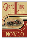 Monaco 1935- Poster