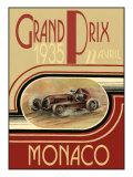 Monaco 1935- Poster