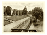 Sepia Garden View IV