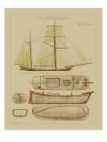 Antique Ship Plan IV