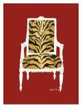 Tiger Chair on Red