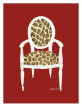 Giraffe Chair on Red