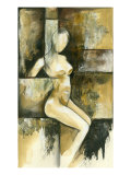 Contemporary Seated Nude I