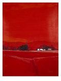 Paysage dans le Rouge