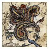 Oiseau du CachemireII Giclée par Susan Gillette