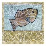 Mosaic Fish Giclée par Susan Gillette