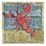 Mosaic Lobster Giclée par Susan Gillette