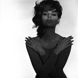 Chainmail Projection on Model with Crossed Arms  1960s