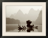 Cormorant Fishermen  Li River  Yangshou  Guilin  Guangxi Province  China