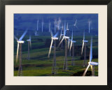 Te Apiti Wind Farm  Tararua Ranges  New Zealand