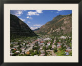 Elevated View of Ouray  Colorado