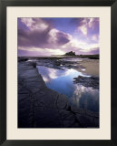 Bamburgh Castle at Dawn  Northumberland  England  United Kingdom  Europe
