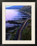 Paekakariki Road along the Kapiti Coast  Wellington  New Zealand